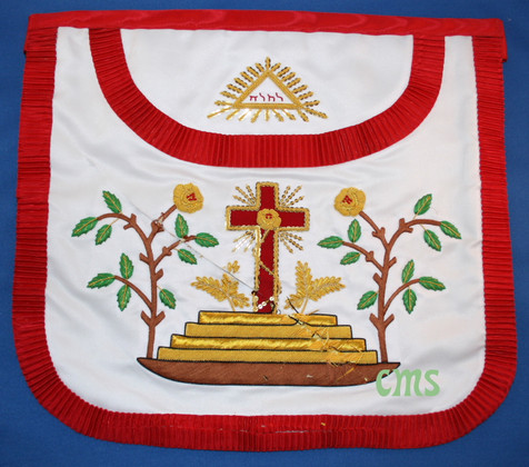 Scottish Rite 18th Degree Apron  Rose Croix