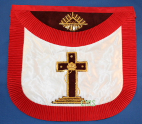 Scottish Rite 18th Degree Apron  Rose croix  -2