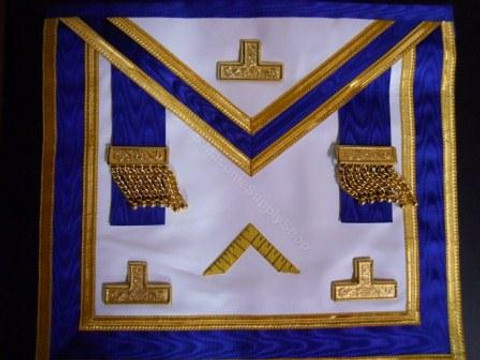 Centennial Officers Apron Royal Blue