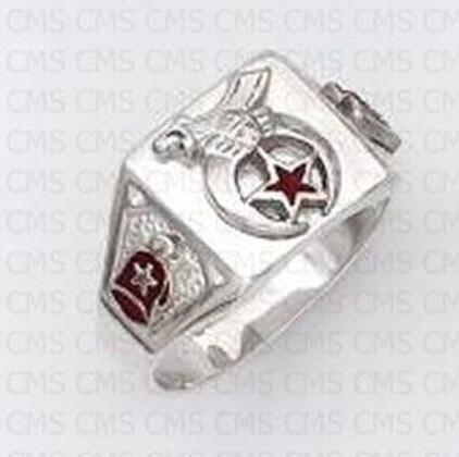 Shrine Silver Ring-14