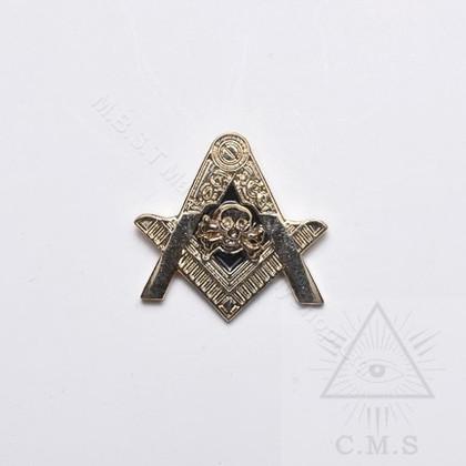 Masonic Skull and Crossed Bone  Lapel Pin