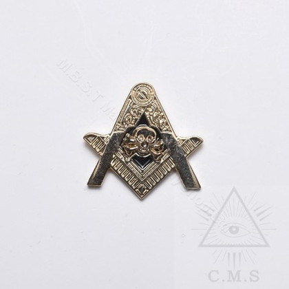 Masonic Skull and Crossed Bone  Lapel Pin
