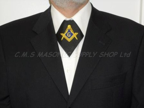 Masonic Cravat   Hand Embroidered