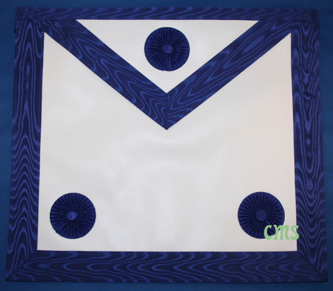 Master Masons Apron Royal Blue