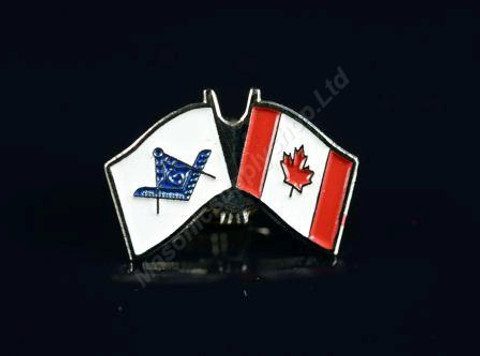 Canadian Flag & Masonic Flag