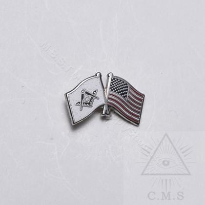 Masonic Flag Lapel Pin