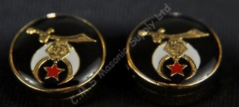 Set of  Four Shrine Button Covers
