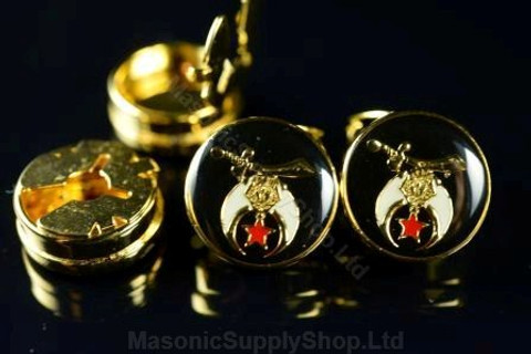 Set of  Four Shrine Button Covers