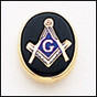 Masonic Lapel Pin