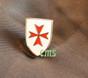 Knight Templar Shield   1/2 inch