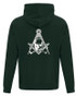 Mortality Fleece  Zippered Hoodies. Assorted Colors   Size small to 4XL!