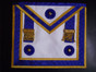 Centennial MM Apron Royal Blue Gold Trim