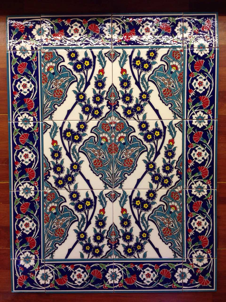 43 Borders and Corners with Royal Blossom Tiles