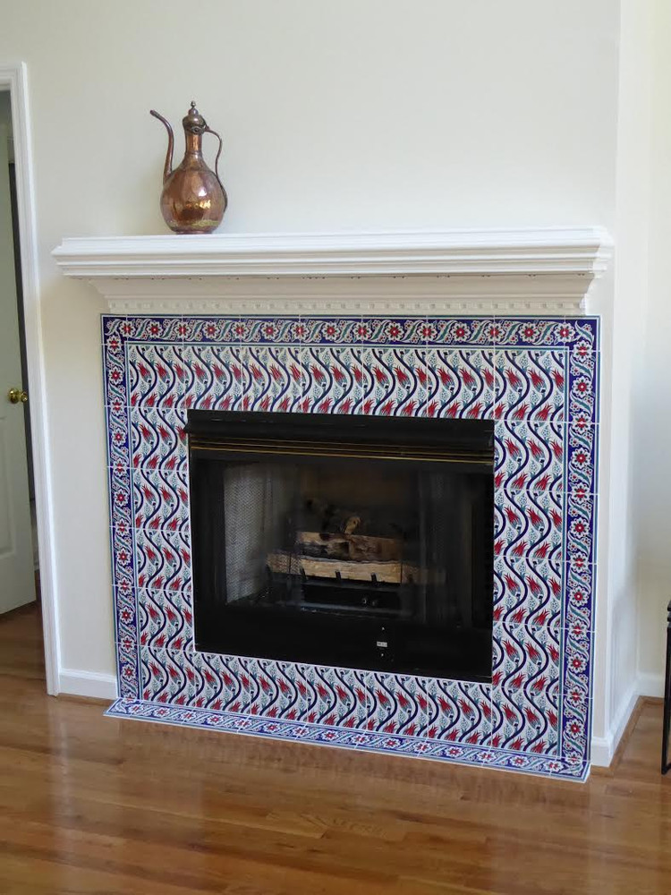 Tiled Hearth - Swansboro, NC - USA