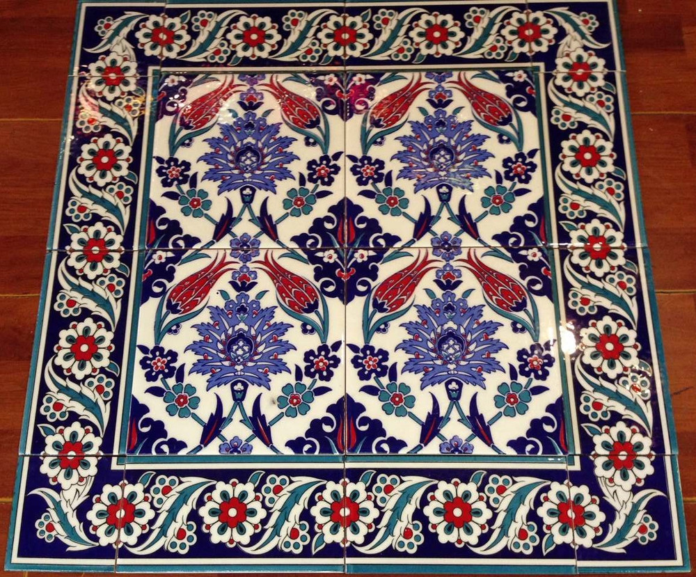 Floral Pattern with Border 08