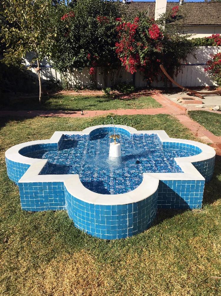Fountain, Woodland Hills, California USA