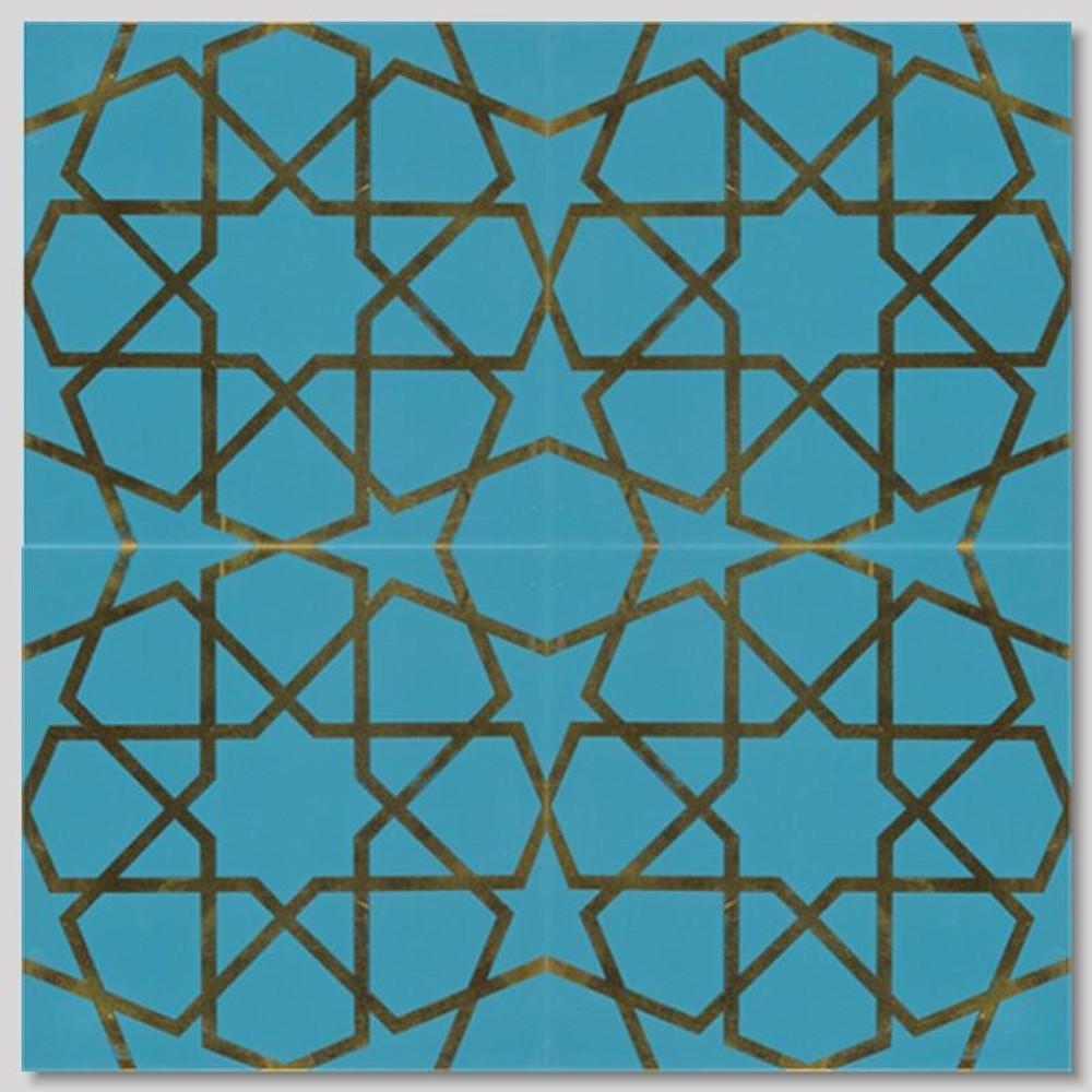 Iznik Art Ceramic Wall Tiles Impressive Turkish Pattern