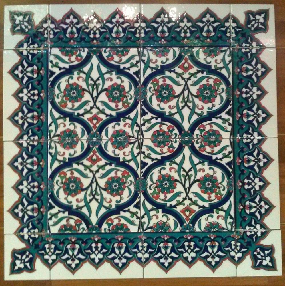 Orient Garden with Border Tile - 13