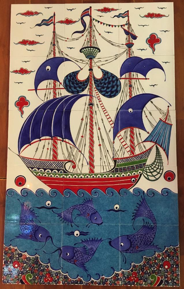 60x100cm ceramic tile panel
