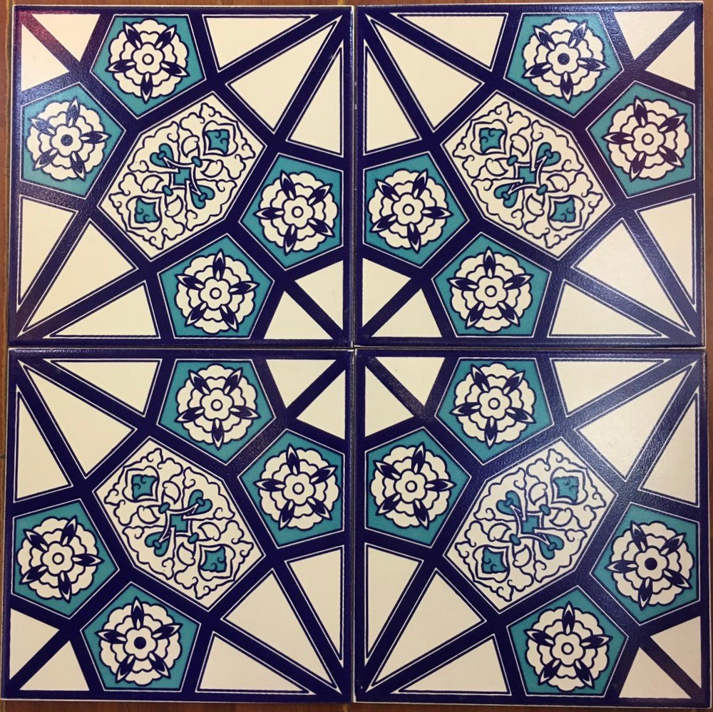 40x40cm 4 pc layout floor tile