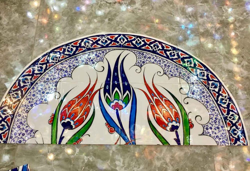 Ceramic Tile Mural Crown