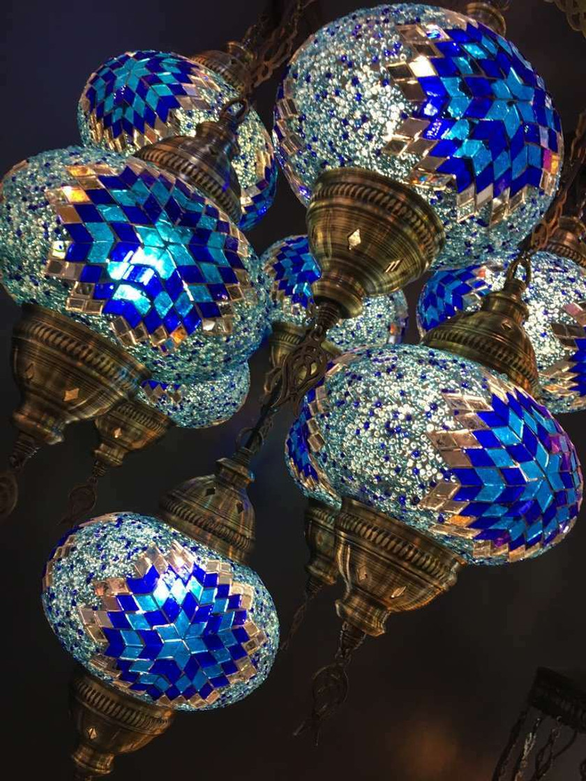 Mosaic Glass Lamps (NEW!!)