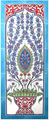 10 pc ceramic wall mural traditional Iznik designs of the past