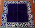Cobalt Tiles with Border 09