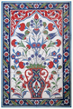 40cm x 60cm Ceramic Tile Iznik Wall Art
