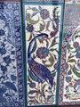 Bird of Paradise Ceramic Tile Backsplash Art from ShopTurkey