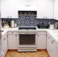 Customer kitchen backsplash