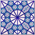 Continuous 4 tile geometric pattern Wall Tiles for kitchen or bathroom
