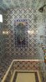 Night Forest Panel Displayed Shower / Hamam Boise, ID - USA