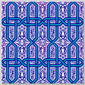 Continuous Design 4pc Wall Tile Pattern size: 40cm x 40xm