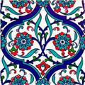 "Orient Garden as single pc Size: 20x20cm (8x8"")"