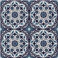 40x40cm 4pc layout floral art ceramic floor tile