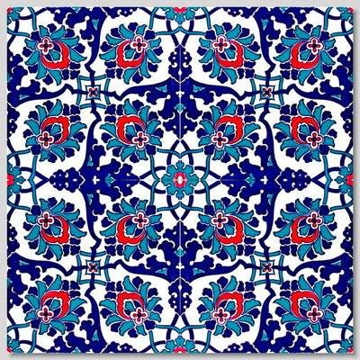 """Continuous Pattern 8x8"""" Wall Tiles for kitchen or bathroom"""