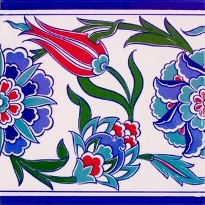 """Border Tile 20x20cm (8x8"""")"""
