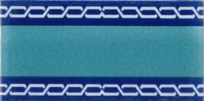 "Border wall tile 10x20cm (4x8"")"