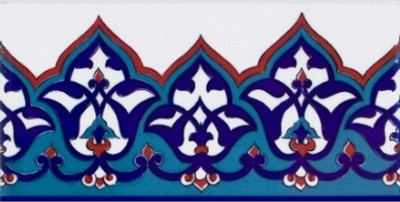 """10x20cm (4x8"""") Border Tile for wall"""