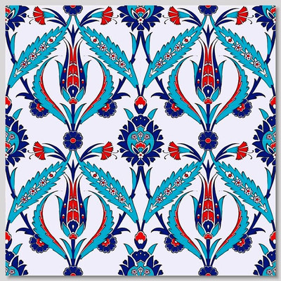 Continuous Pattern 40x40cm Wall Tiles  for kitchen or bathroom