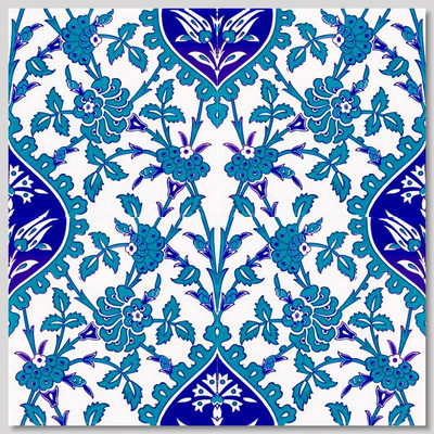 """Continuous Pattern  Wall Tiles for kitchen or bathroom 40x40cm (16x16"""") pattern"""