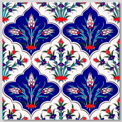 Continuous Pattern  Wall Tiles  for kitchen or bathroom