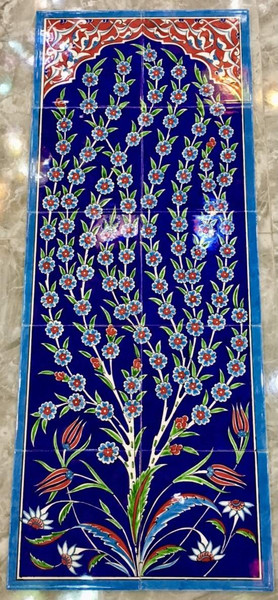 40x100cm - Night Forest Tile Panel