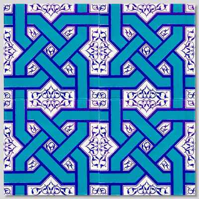 "4pc tile continuous pattern 40 x 40cm (16 x 16"")"