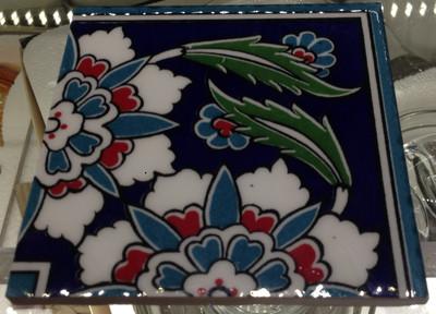 "10x10cm (4x4"") Ceramic Corner Wall Tile"