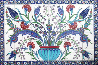 120x80cm - Urn of Life Ceramic Tile Panel