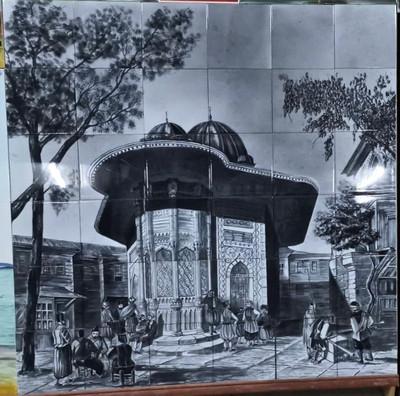 120x120cm 36 tile scenic panel