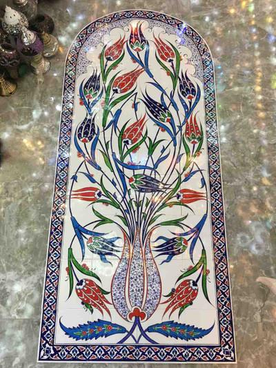 Ceramic Tile Floral Backsplash from ShopTurkey.com