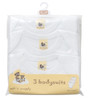 Soft'n'Snuggly Baby BodySuit 3-Pack